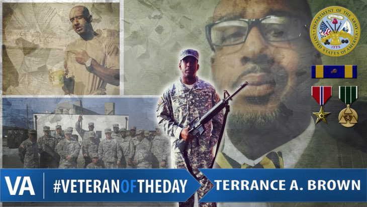 #VeteranOfTheDay Army Veteran Terrance A. Brown