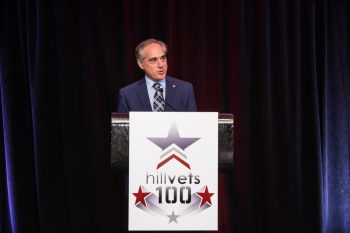 VA Secretary Shulkin at the HillVets 100 Tribute Gala