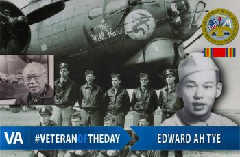 Veteran of the Day Edward Ah Tye
