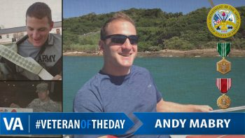 Andy Mabry - Veteran of the Day