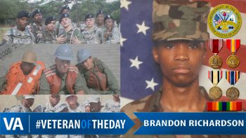 Brandon Richardson - Veteran of the Day