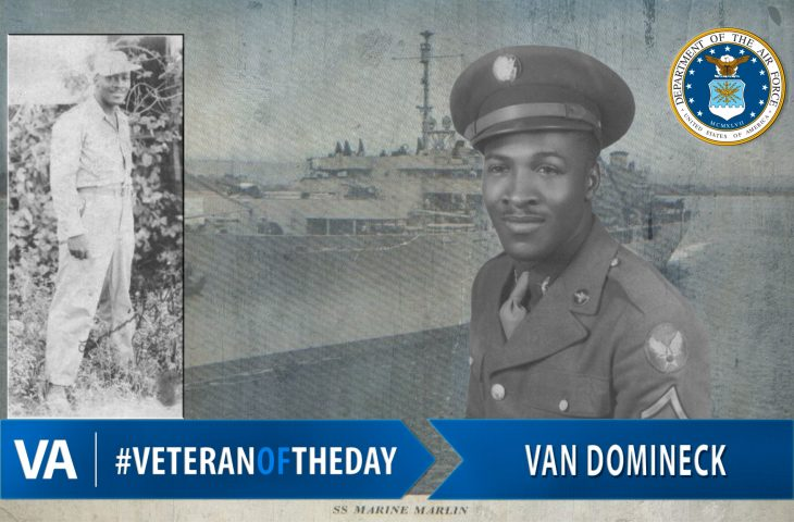 Veteran of the Day Van Domineck