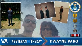 Dwayne Paro - Veteran of the Day
