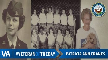 Patricia Ann Franks - Veteran of the Day