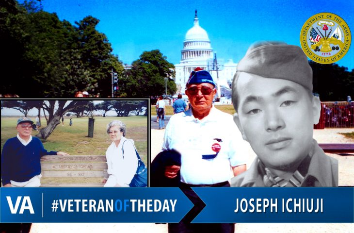 Veteran of the Day Joseph Ichiuji