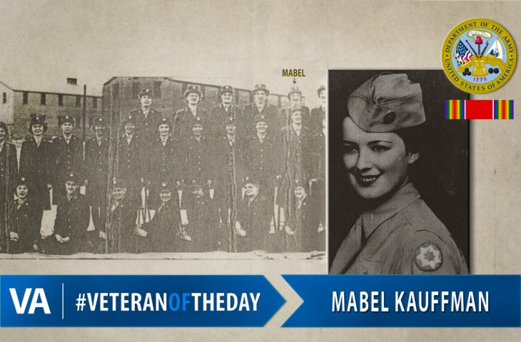 Veteran of the Day Mabel Kauffman