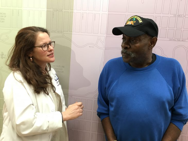 Kenneth Williams Marine Corps Veteran and Dr. Sabrina Felso