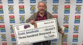WWII Veteran's birthday luck lands him a big lottery prize