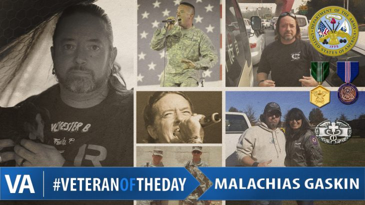 "Ralph ""Malachias"" Gaskin - Veteran of the Day"