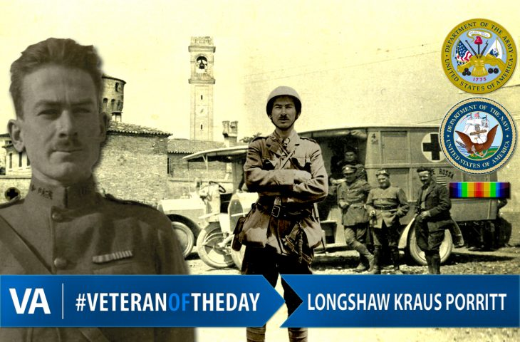 Veteran of the Day Longshaw Porritt