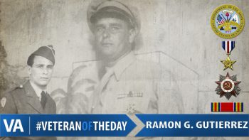Veteran of the Day Ramon Gutierrez