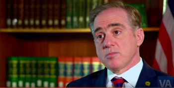 VA Secretary Dr. David Shulkin