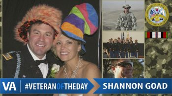 Shannon Goad - Veteran of the Day