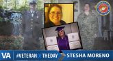 Stesha Moreno - Veteran of the Day