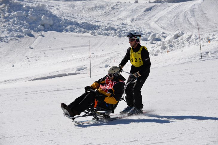 Disabled Veterans attend annual winter sports clinic hosted by VA and DAV
