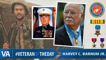 Veteran of the Day Harvey C. Barnum Jr.