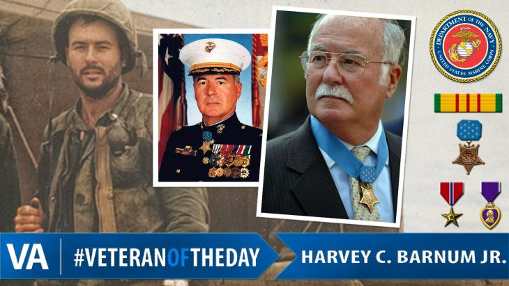 #VeteranOfTheDay Harvey C. Barnum Jr.