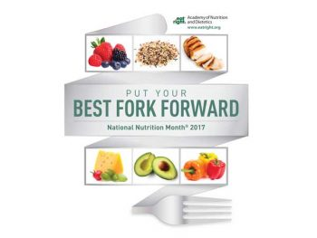 Best Fork Forward Nutirtion Month graphic