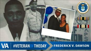 Veteran of the Day Frederick Dawson