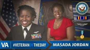 Veteran of the Day Masada Jordan