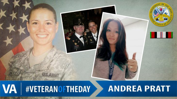 Veteran of the Day Andrea Pratt