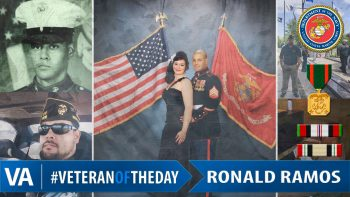 Ronald Ramos - Veteran of the Day