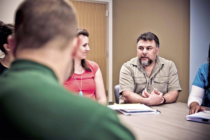 VA mental health professionals discuss new treatments.