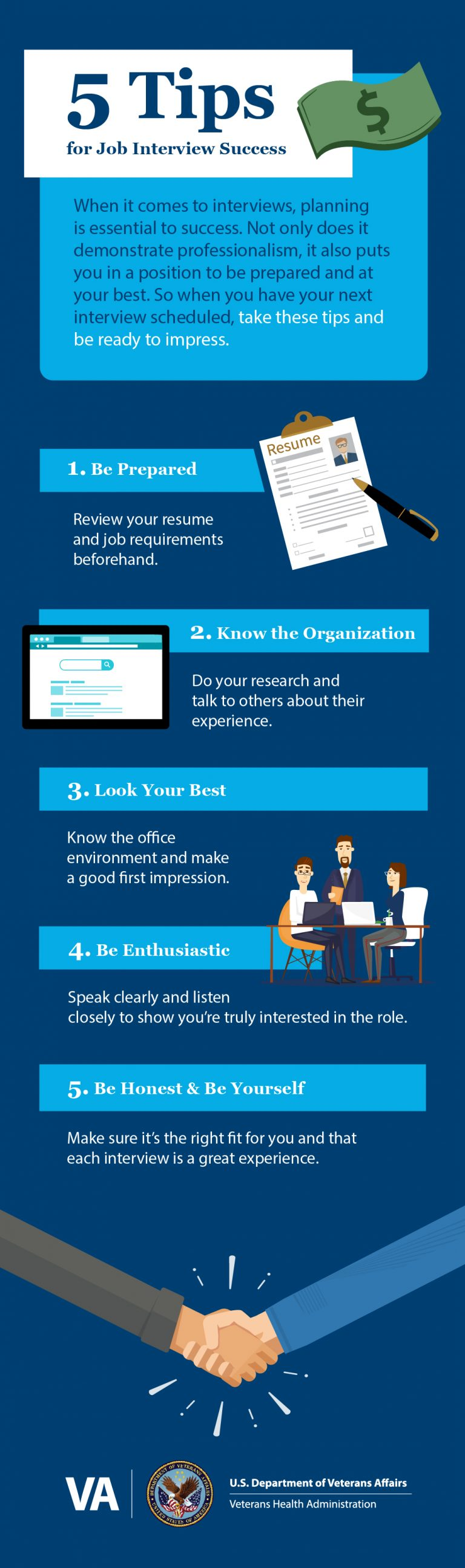 10 tips for job interview success