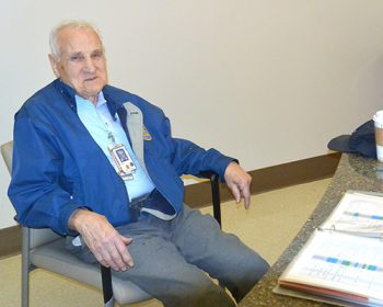 Veteran Volunteer Savarino to mark 100th Birthday