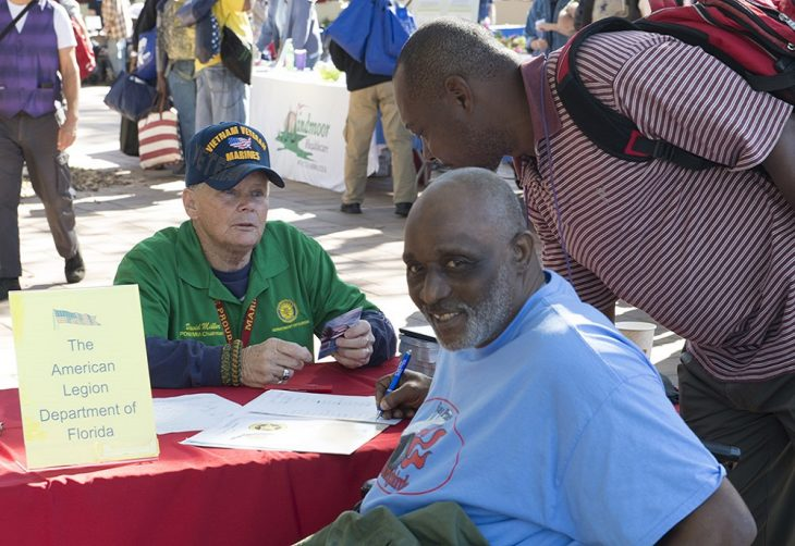 Marine Veteran is VA's male volunteer of the year