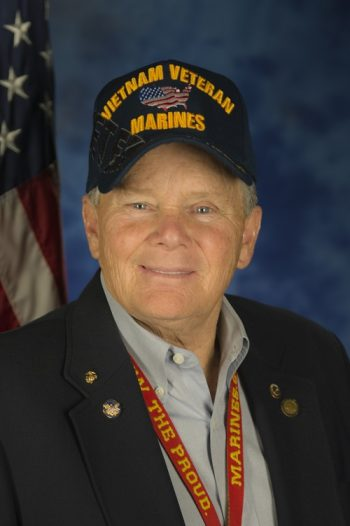 Marine Veteran and Volunteer David Miller