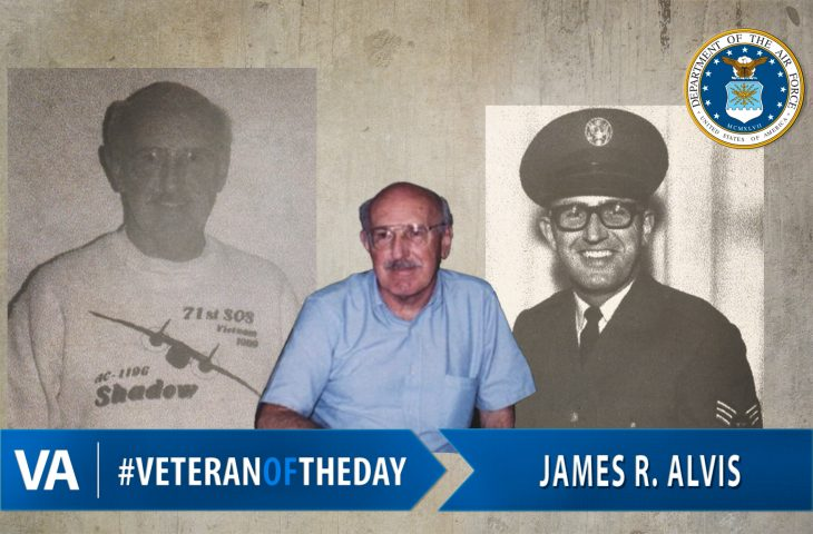 #VeteranOfTheDay is James Alvis.