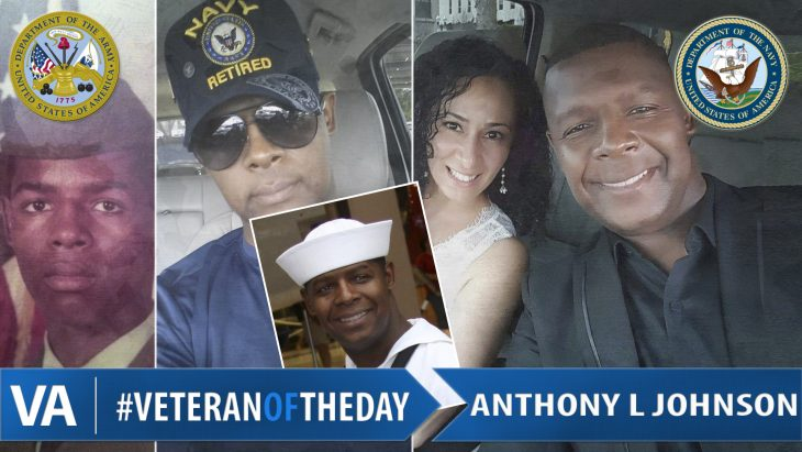 #VeteranOfTheDay Anthony L. Johnson