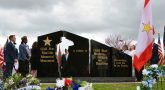 The Gold Star Families Memorial Monument at Lexington, Kentucky's Veterans Park.