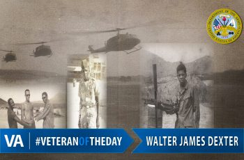 Veteran of the Day Walter James Dexter