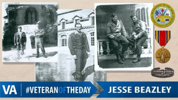 Jesse Beazley - Veteran of the Day