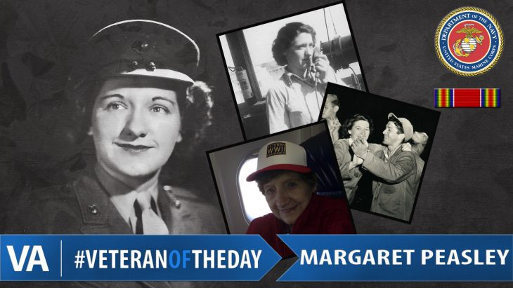 #VeteranOfTheDay Margaret 'Peg' Rau Peasley