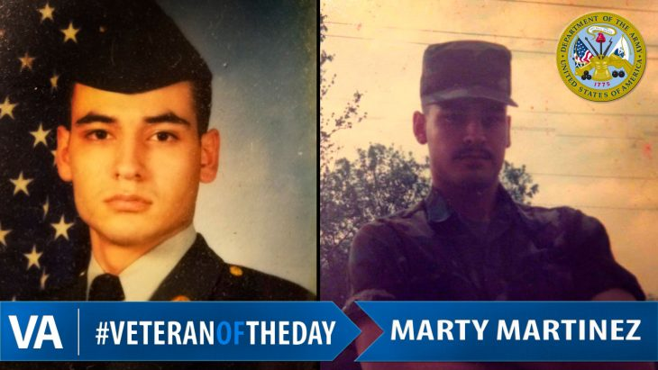 #VeteranOfTheDay Army Veteran Marty Martinez