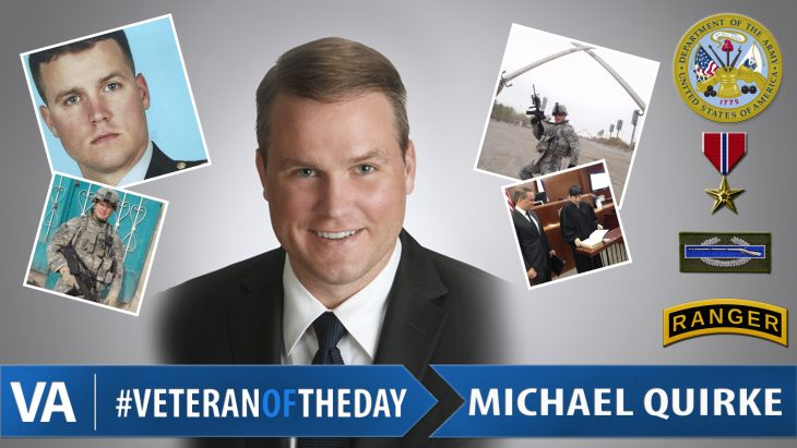 #VeteranOfTheDay Michael Quirke
