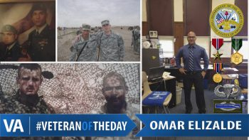 Omar Elizalde - Veteran of the Day