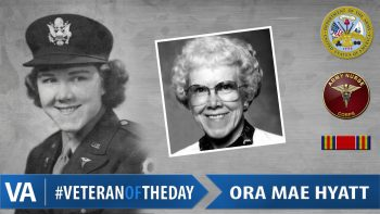 Ora Mae Hyatt - Veteran of the Day