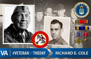 "#VeteranOfTheDay Richard ""Dick"" Cole"