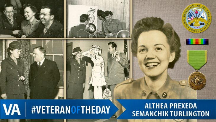 Althea Semanchik - Veteran of the Day