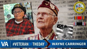 Veteran of the Day Wayne Carringer