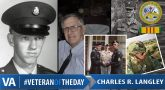 Charles Raymond Langley - Veteran of the Day