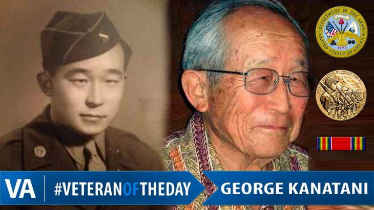 #VeteranOfTheDay George Kanatani