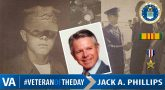 Veteran of the Day Jack Phillips