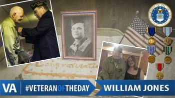 Veteran of the Day William Jones