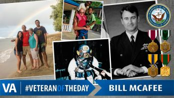 Bill McAfee - Veteran of the Day