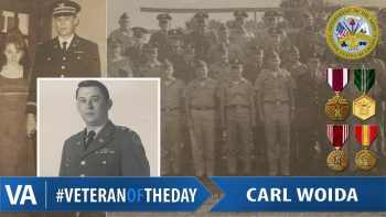 Veteran of the Day Carl Woida